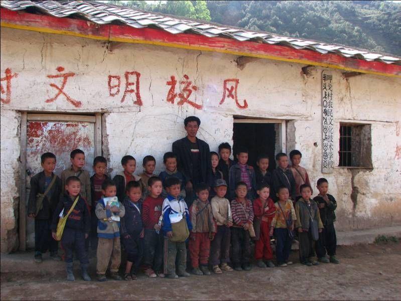 贫困县教师老龄化